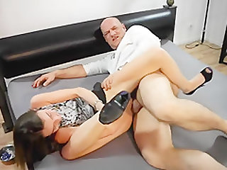 Crazy Amateur movie with Young/Old, Shaved scenes