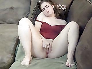 Pierced Pussy Masturbation