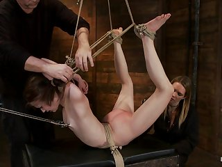 Severely Bound Into A Brutal Hogtie And Pulled To The Breaking Pointmade To Cum Over And Over - HogTied